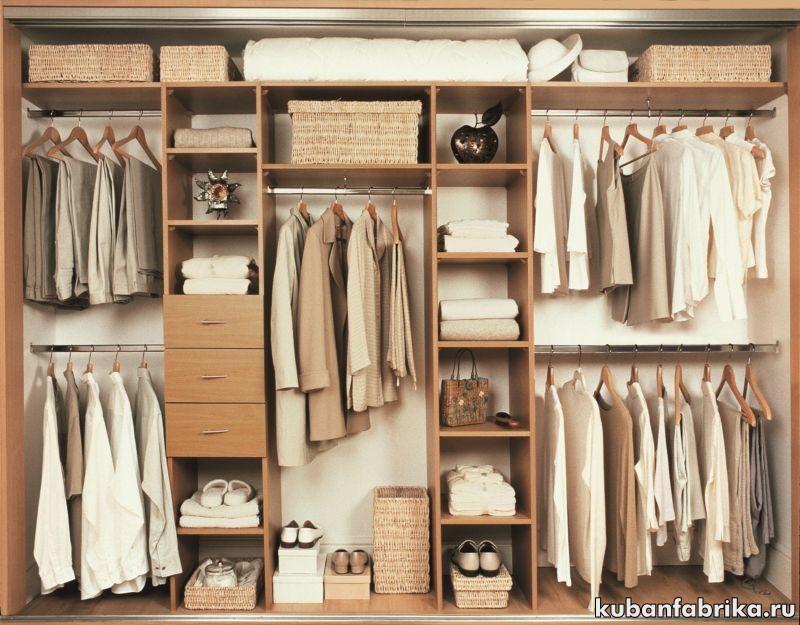 заказать гардеробную комнату