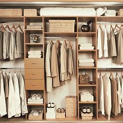 гардеробная комната под заказ