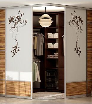 гардеробные двери с пескоструйным рисунком в краснодаре